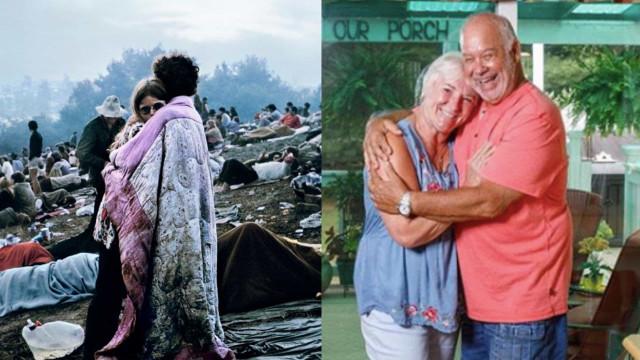 Estavam apaixonados em Woodstock e ainda estão juntos, 50 anos depois