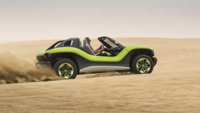 'Buggy' elétrico da Volkswagen pode tornar-se realidade. Veja as imagens