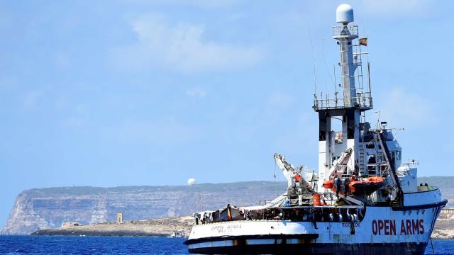 Itália agradece ajuda de Espanha e pede interdição da ONG 'Open Arms'