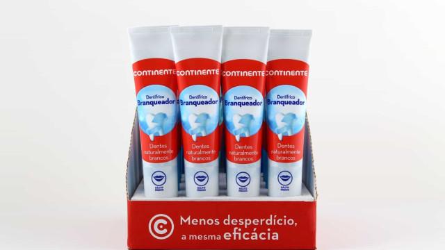Continente vai passar a vender pastas de dentes sem embalagem de cartão