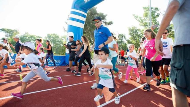 Corrida do Tejo Kids desafia pequenos atletas