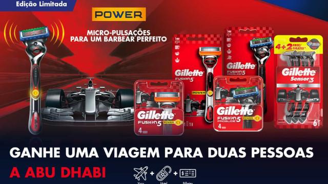 Edição limitada da Gillette Red Racing oferece viagem a Abu Dhabi