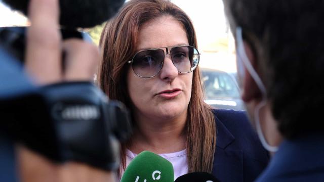 """Rosa Grilo em tribunal: """"Está um pouco agastada"""", o sorriso """"é um tique"""""""