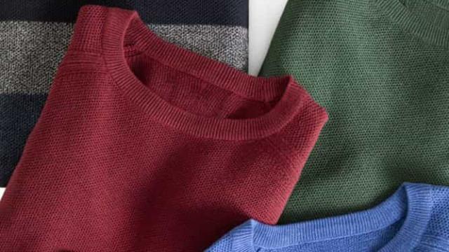 MO lança linha de camisolas de algodão reciclado