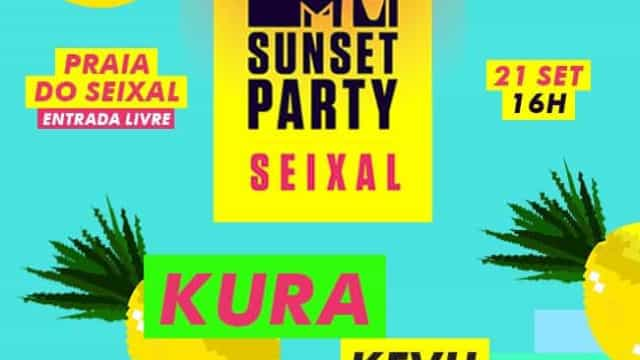 A MTV Sunset Party Seixal está de volta com a melhor música do momento