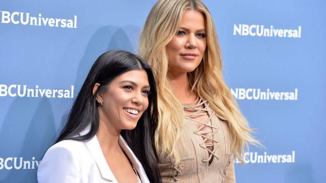 Kourtney Kardashian 'apanhada' com ex-namorado da irmã, Khloé Kardashian