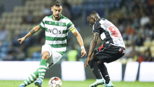 [1-1] Boavista-Sporting: Bruno Fernandes expulso após segundo amarelo