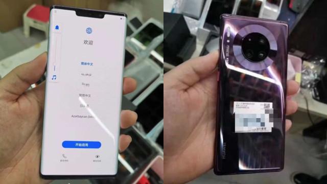 Topo de gama da Huawei volta a surgir em imagens reveladoras
