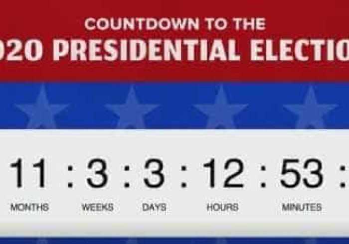 É Presidente há poucas horas mas já se contam os dias até às eleições