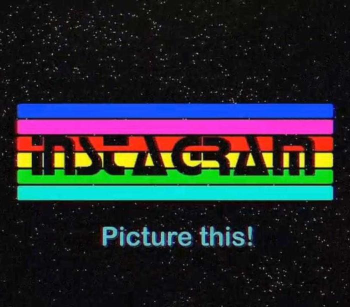 O Instagram em 'low-res' nos anos 80