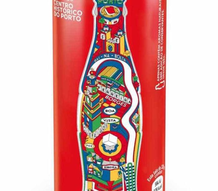 Coca-Cola homenageia invicta com lata comemorativa
