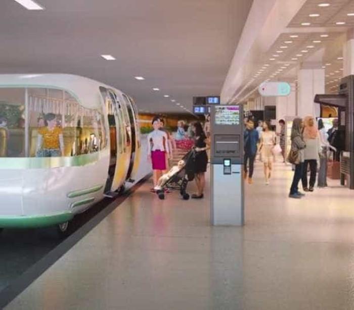 Tecnologia inteligente de auto-condução em Singapura