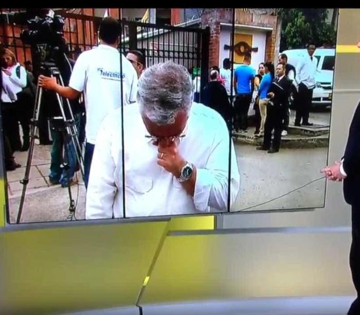Chapecoense: Repórter não esconde lágrimas ao falar de colega que morreu