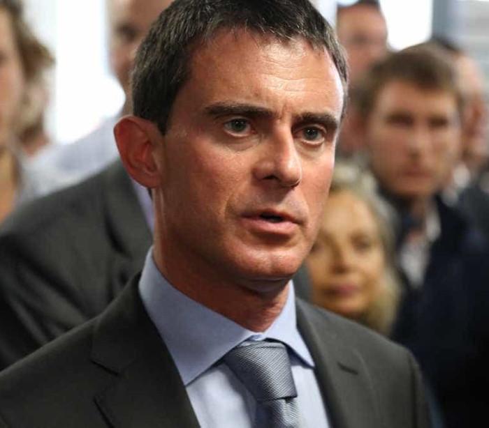 Manuel Valls agredido durante a campanha eleitoral