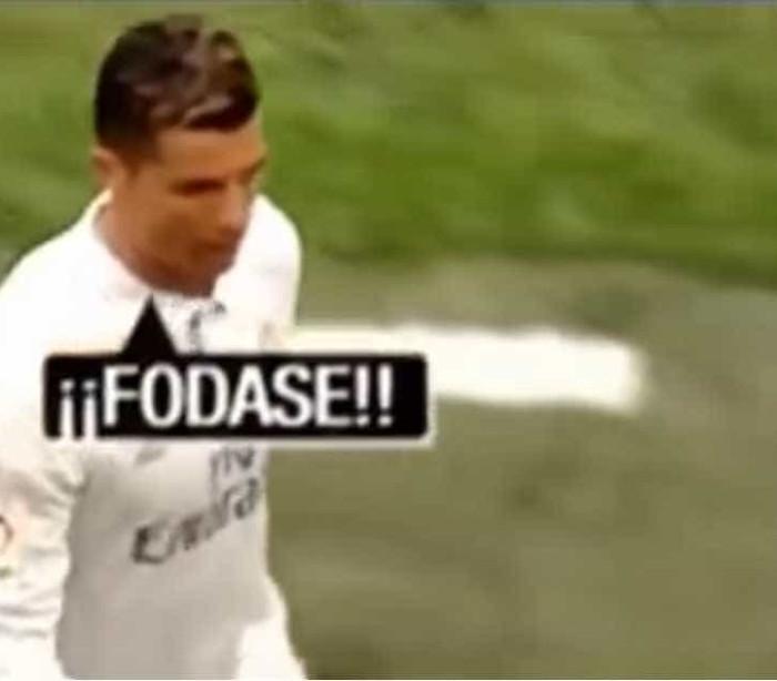 Ronaldo substituição