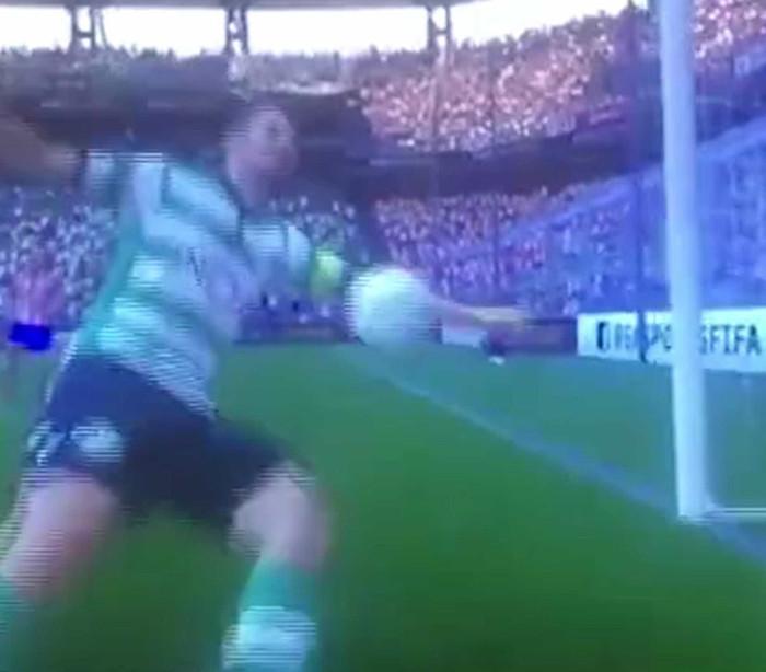 O pior golo alguma vez marcado no 'FIFA 17'