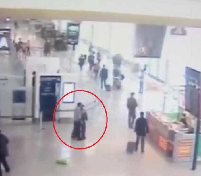 Orly: Divulgado vídeo do momento em que militar é atacada