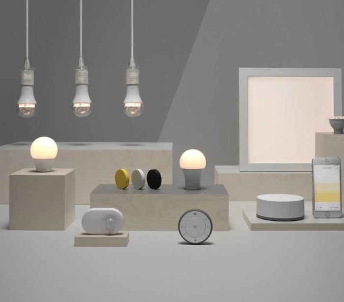 Lâmpadas inteligentes chegam ao IKEA em abril
