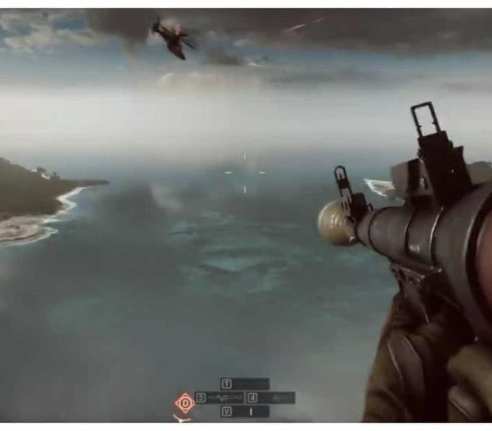 Jogada impressionante no 'Battlefield 4'. Acidental ou propositado?