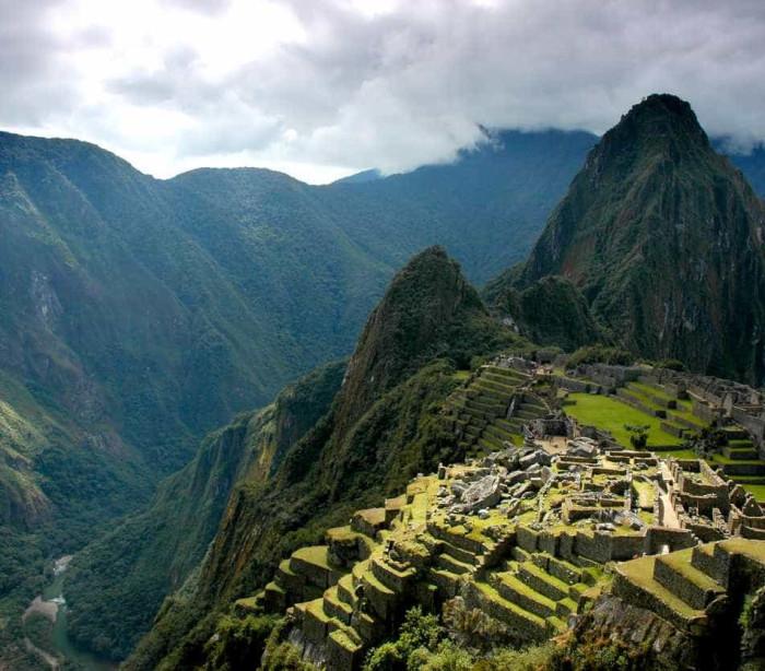"""Machu Picchu, a """"cidade perdida dos incas"""""""
