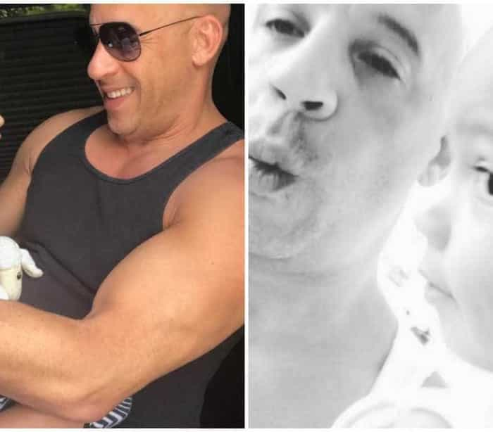 Filha de Vin Diesel adora os assobios do pai