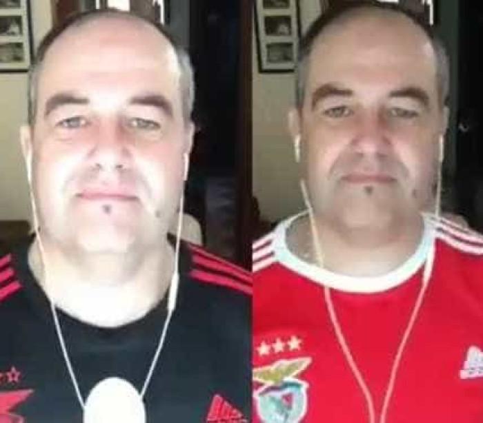 Adepto canta música Despacito com letra à Benfica e vídeo torna-se viral