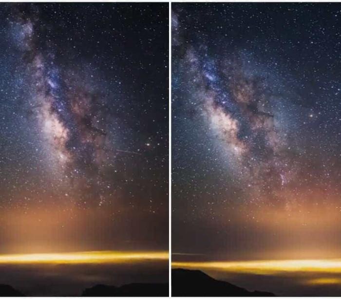 A beleza da Via Láctea captada na Califórnia