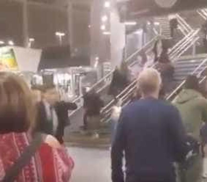 Os momentos de pânico vividos em Manchester