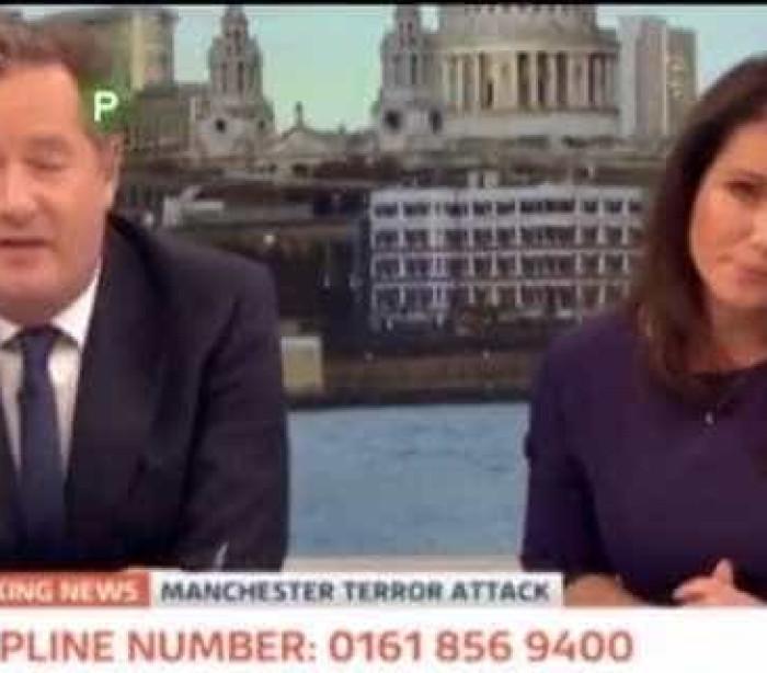 Jornalistas não conseguem conter emoção durante relatos de Manchester