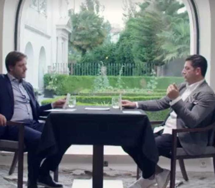 Pedro Martins e Rui Vitória numa conversa rara no futebol