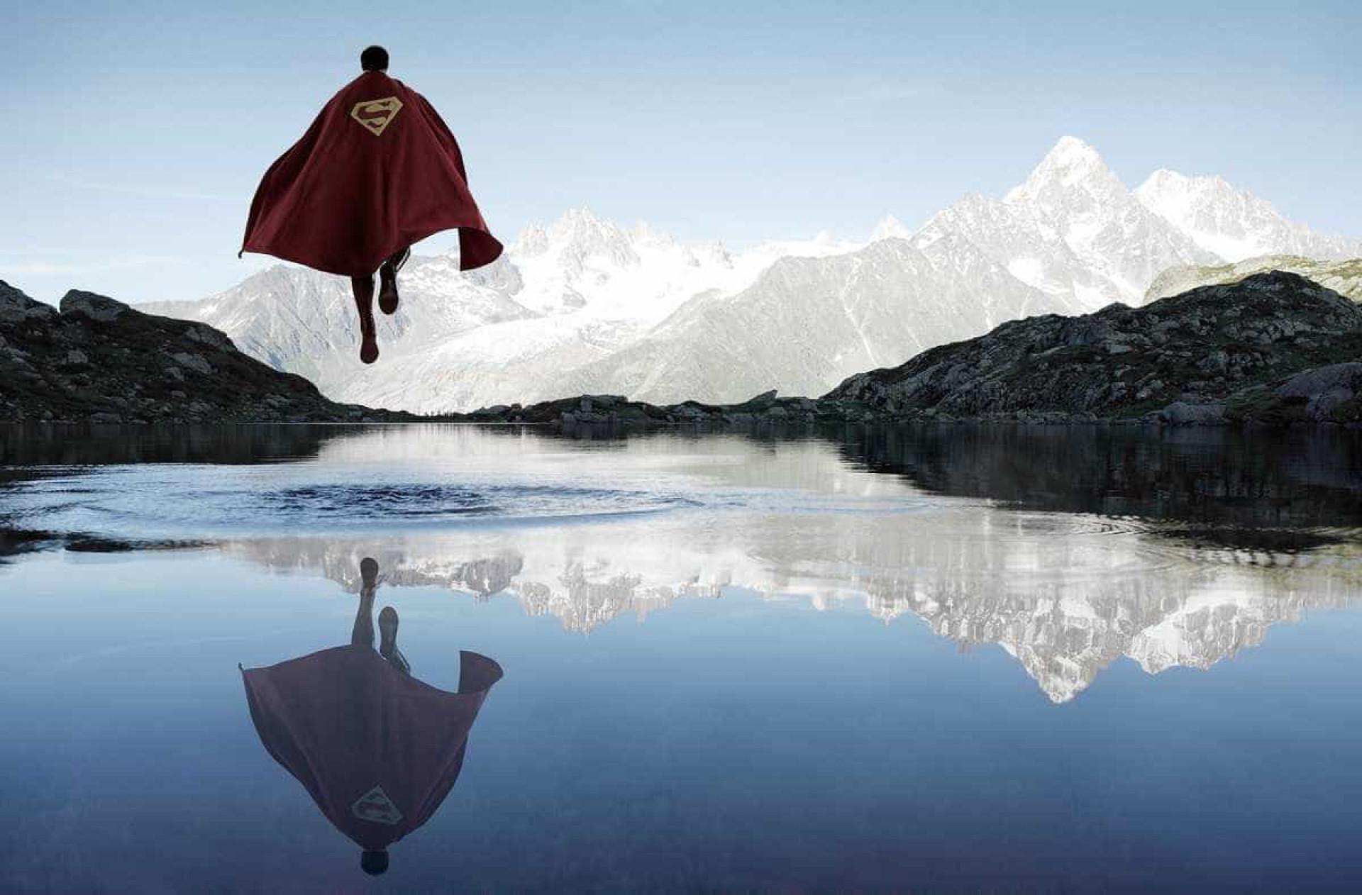 Os super-heróis também precisam de descanso