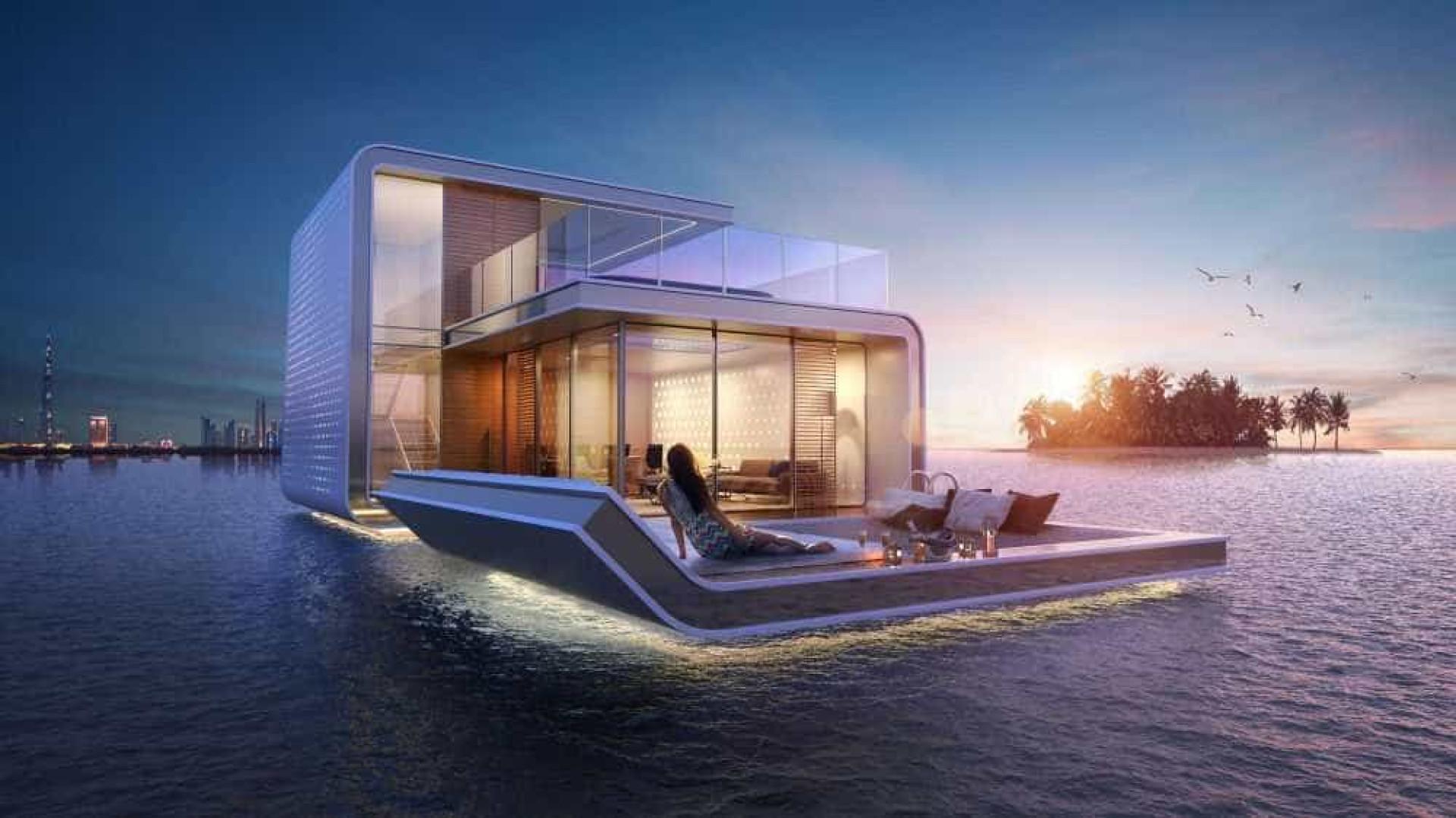 Dubai tem à venda luxuosas moradias flutuantes