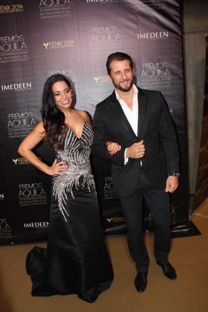 Estrelas nacionais brilham em noite de gala dos Prémios Áquila