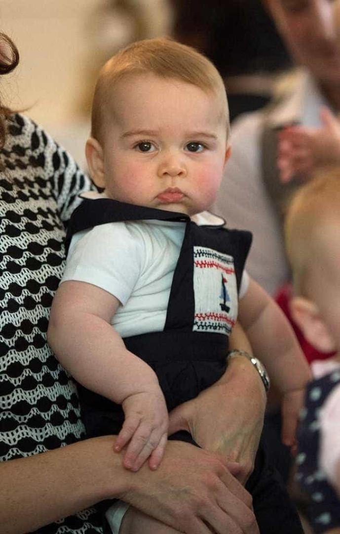 Casa real assinala aniversário do príncipe George com nova foto