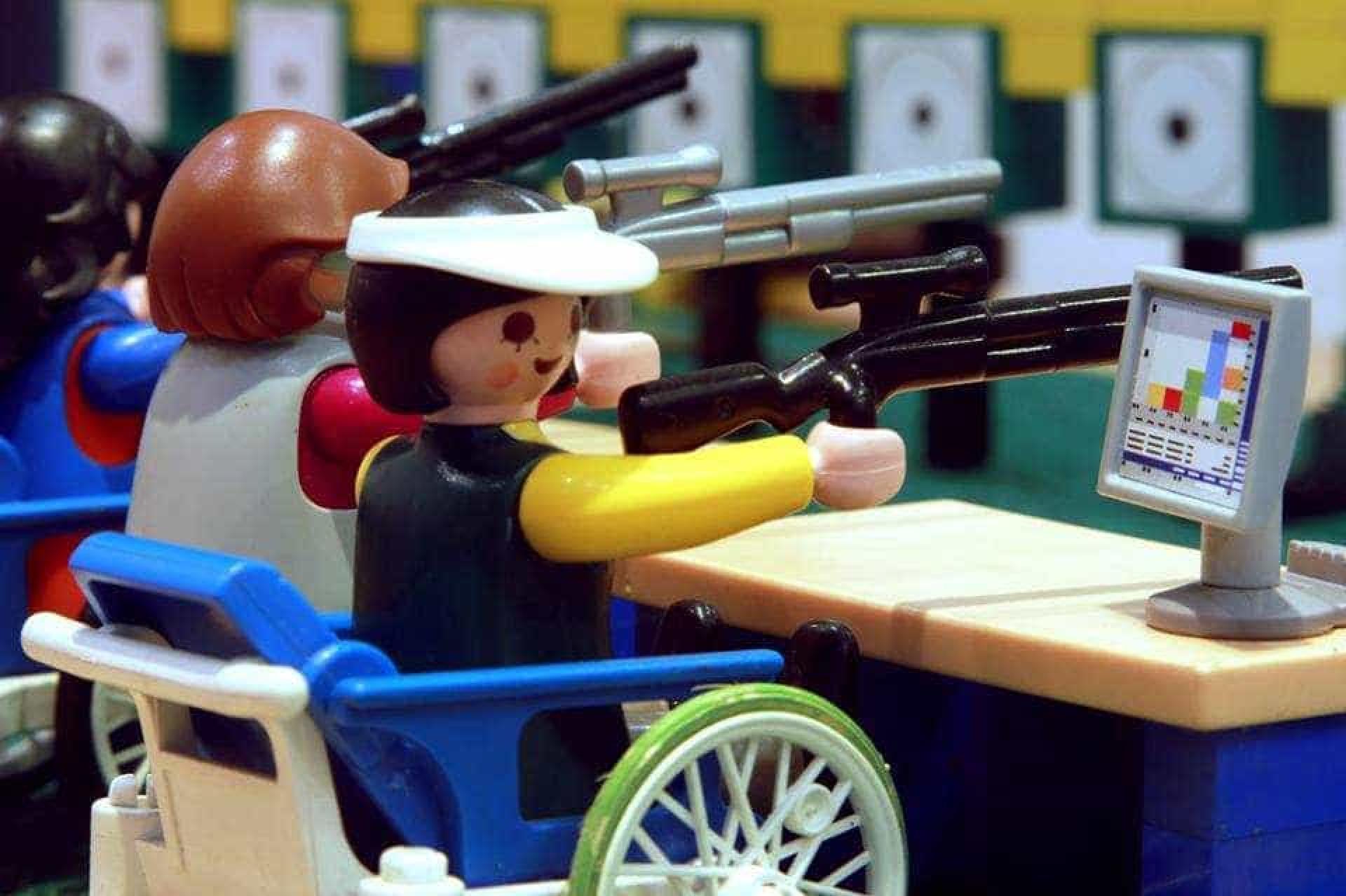 O mundo dos Paralímpicos em Playmobil para alertar crianças e adultos