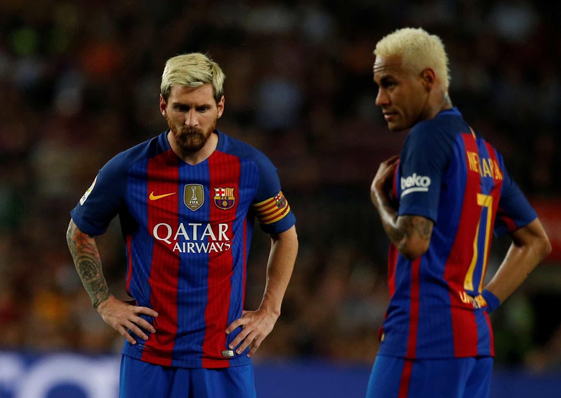"""Messi publica vídeo de despedida a Neymar: """"Foi um prazer enorme"""""""