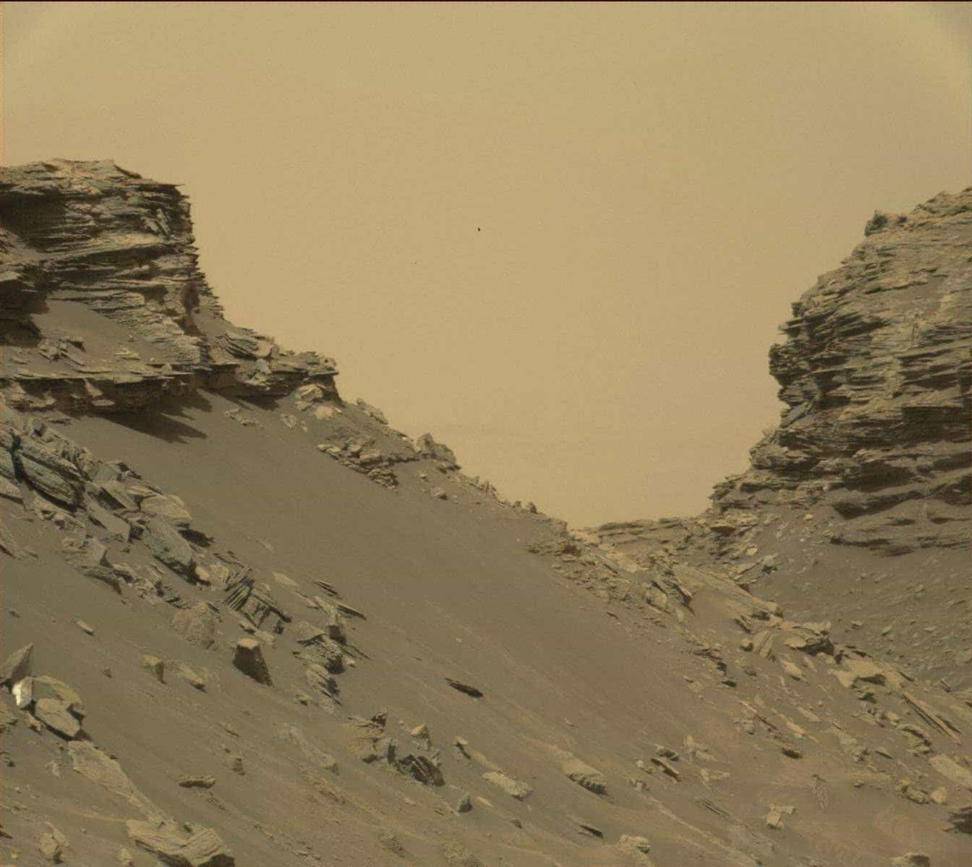 NASA revela novas imagens de Marte captadas pelo Curiosity