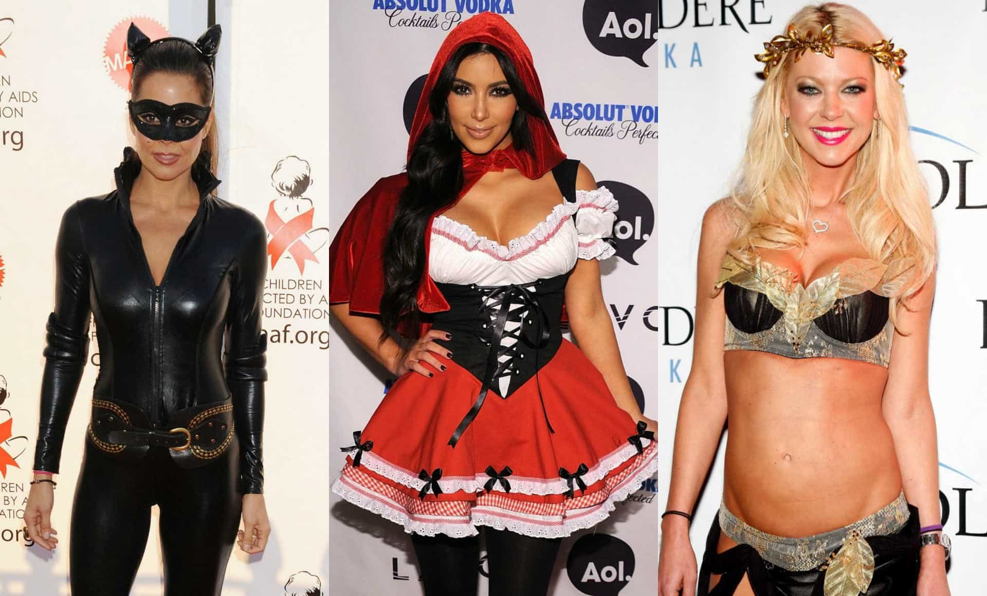 As máscaras mais sensuais das celebridades no Halloween