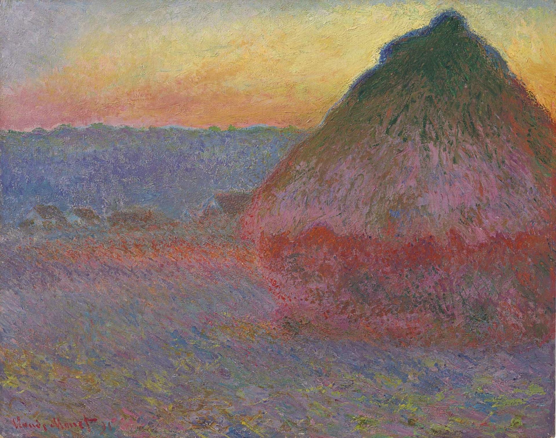 'Fardo de palha' de Monet pode valer mais de 40 milhões em leilão