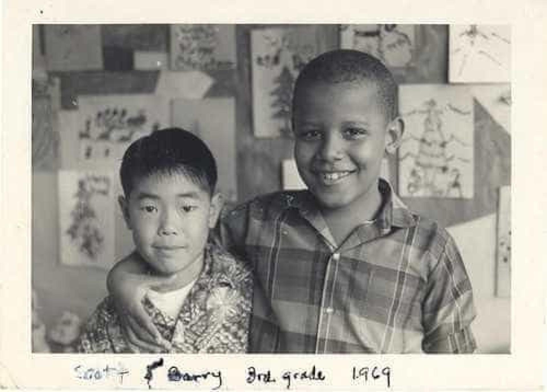 A criança que o presidente Obama foi e a infância que teve