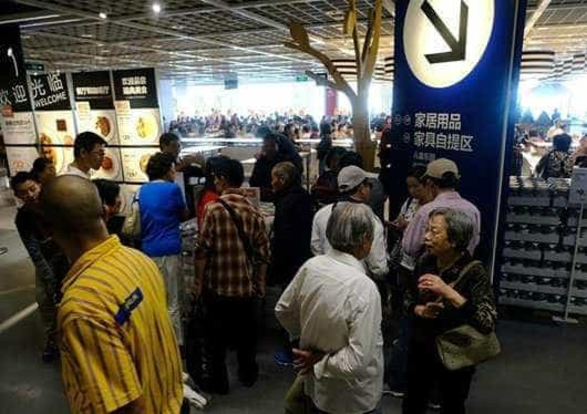 Idosos na China proibidos de usar IKEA para encontros amorosos