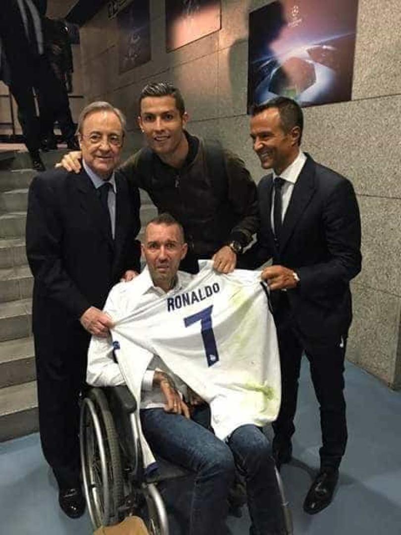 Ronaldo mostrou (mais uma vez) o seu lado solidário