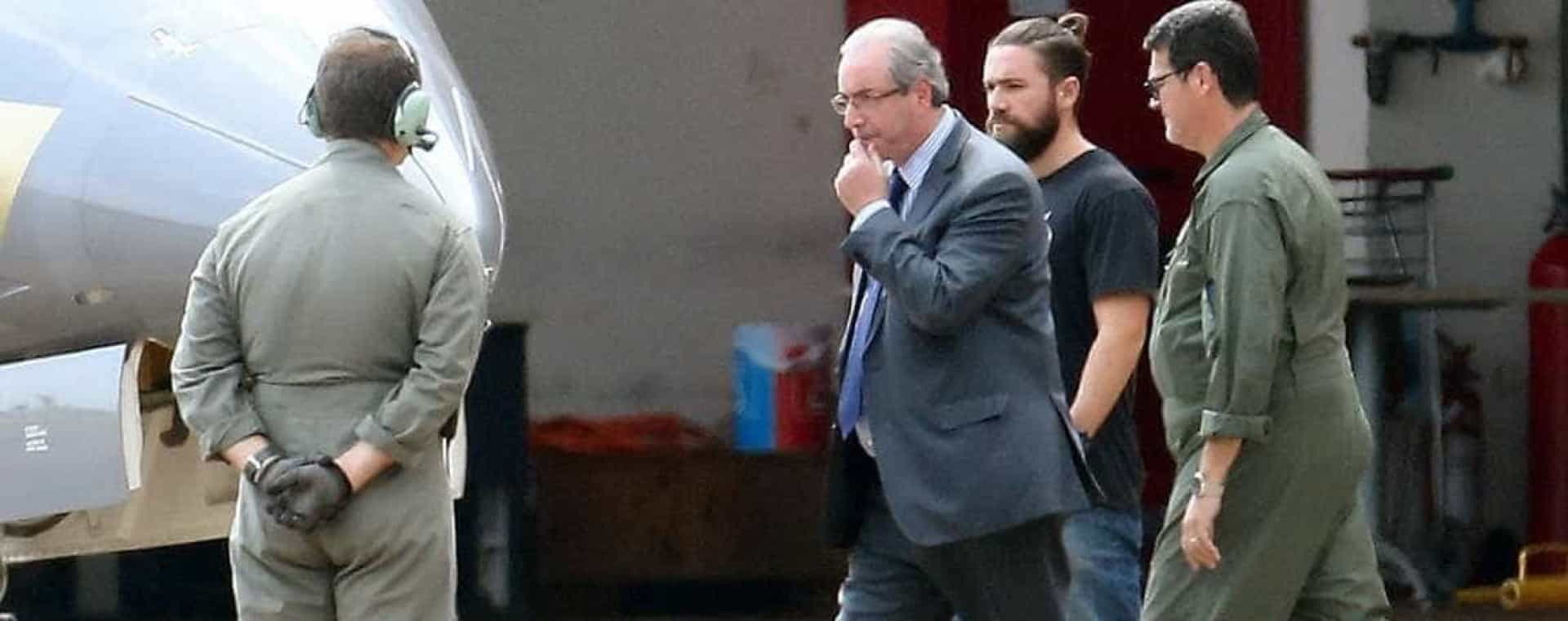 Há um polícia a roubar os holofotes na detenção de Eduardo Cunha