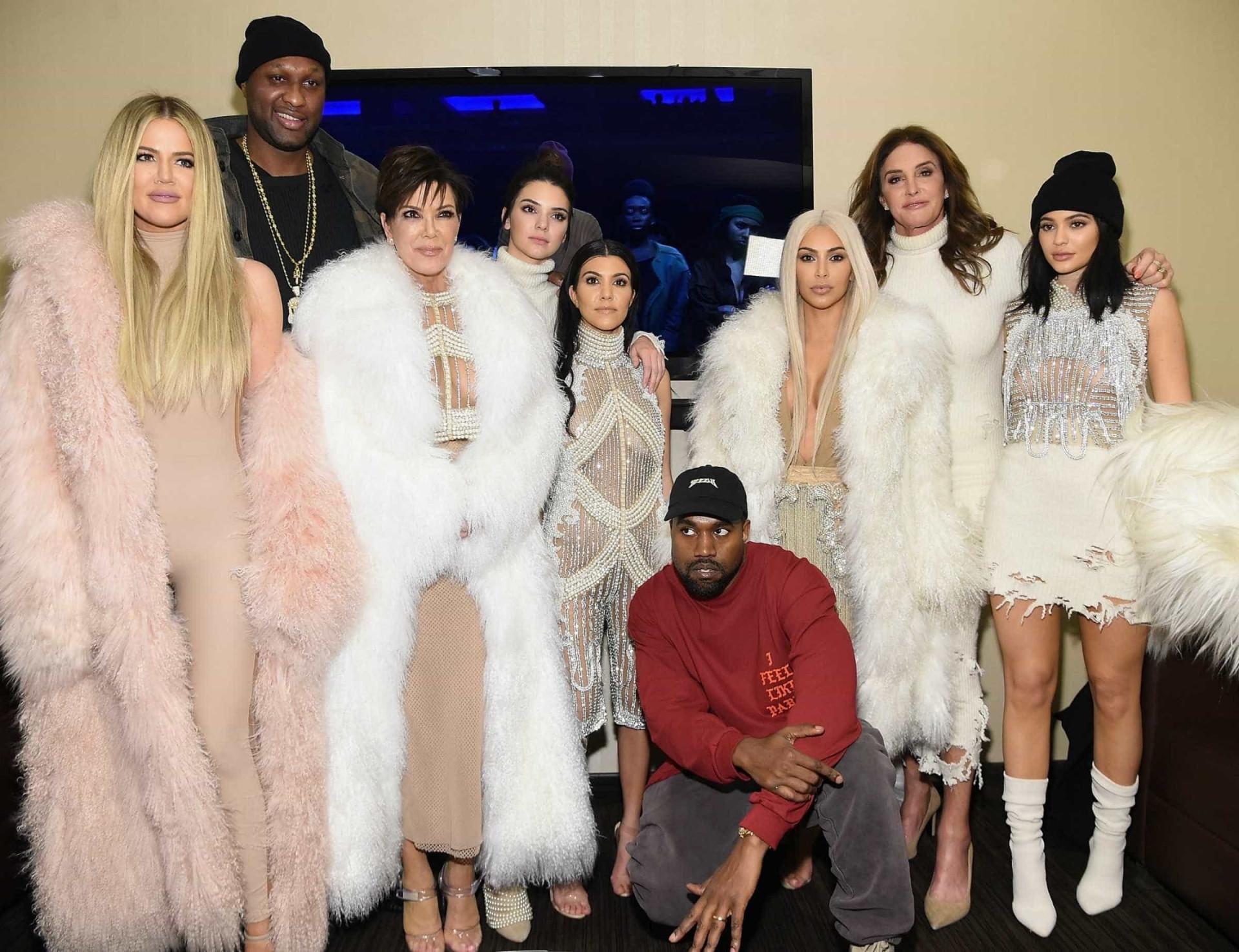 As várias mudanças do clã Kardashian-Jenner