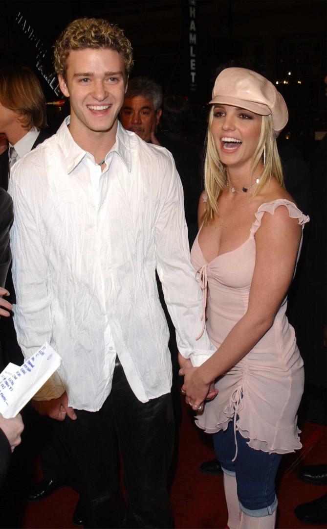Quando Justin Timberlake e Britney Spears eram o casal da moda