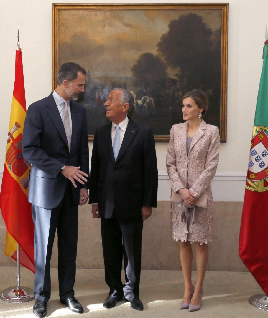 Os reis de Espanha andaram a espalhar simpatia pelo Porto