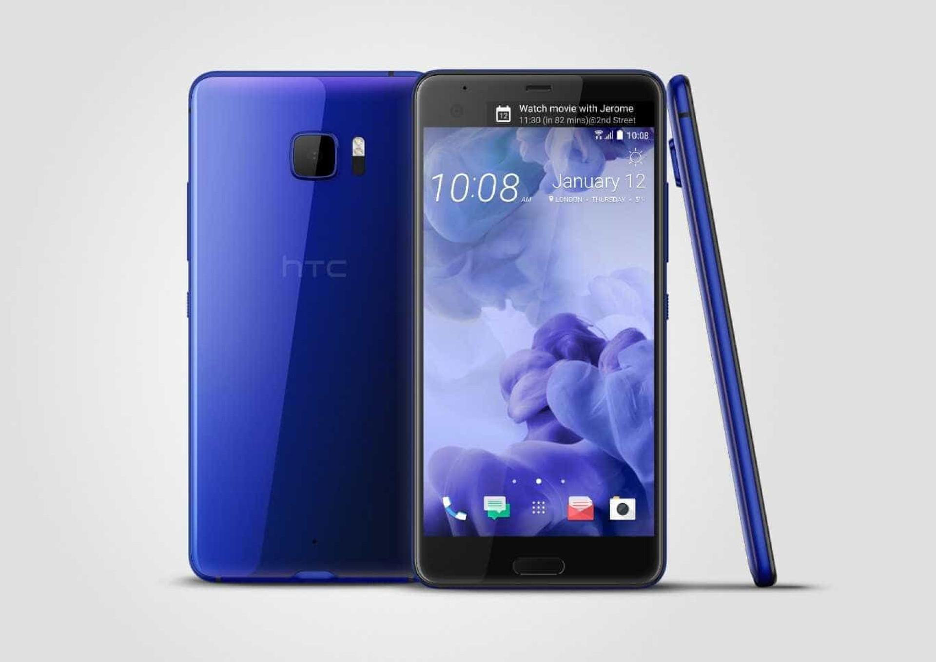 Novo topo de gama da HTC tem ecrã duplo