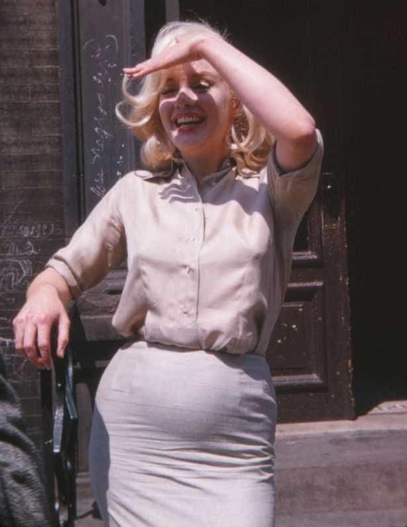 Marilyn Monroe esteve grávida. Eis a fotografia que o prova