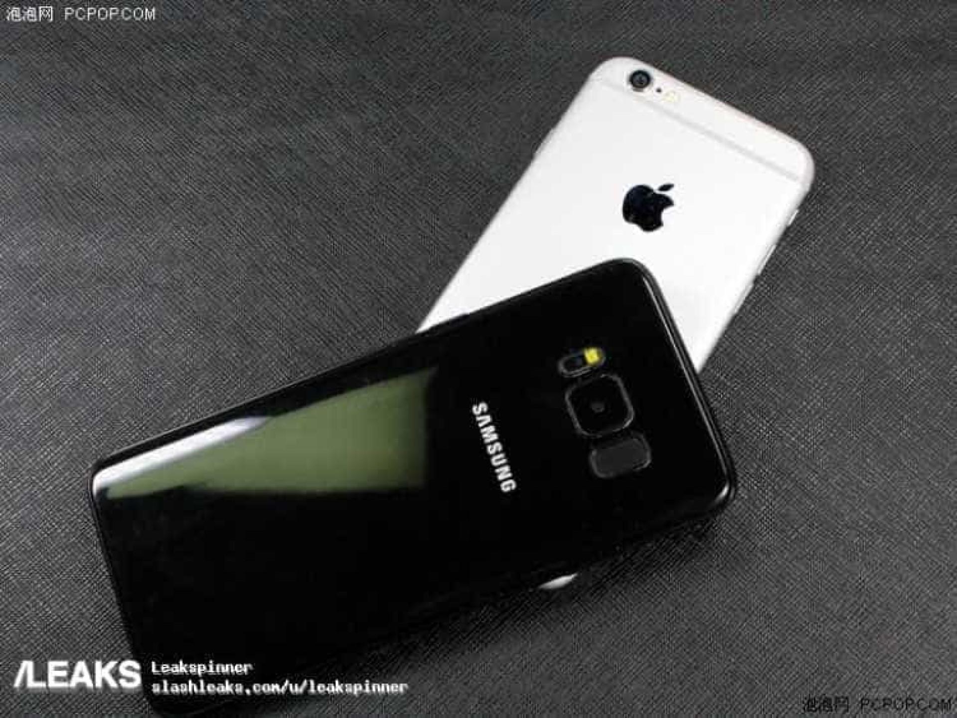 Veja como se compara o Galaxy S8 ao iPhone 6