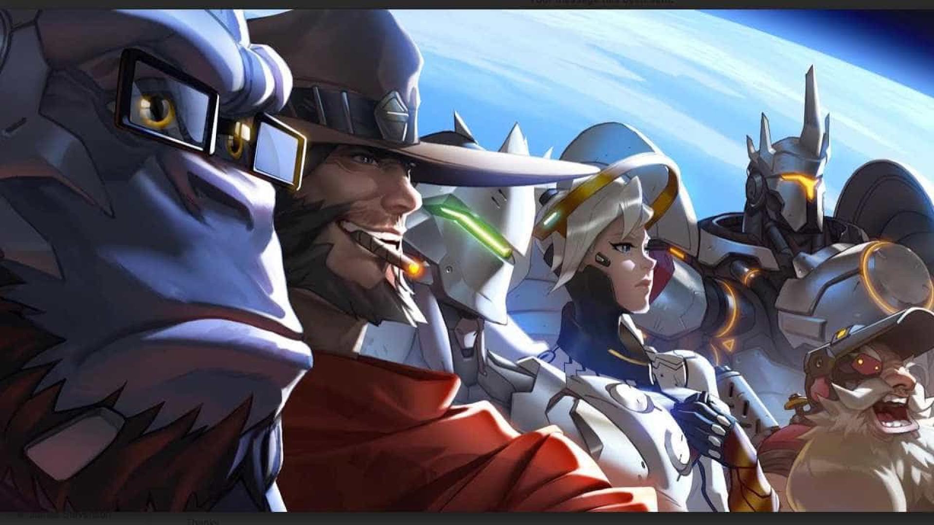 Os Jogos de Verão estão de volta a 'Overwatch'
